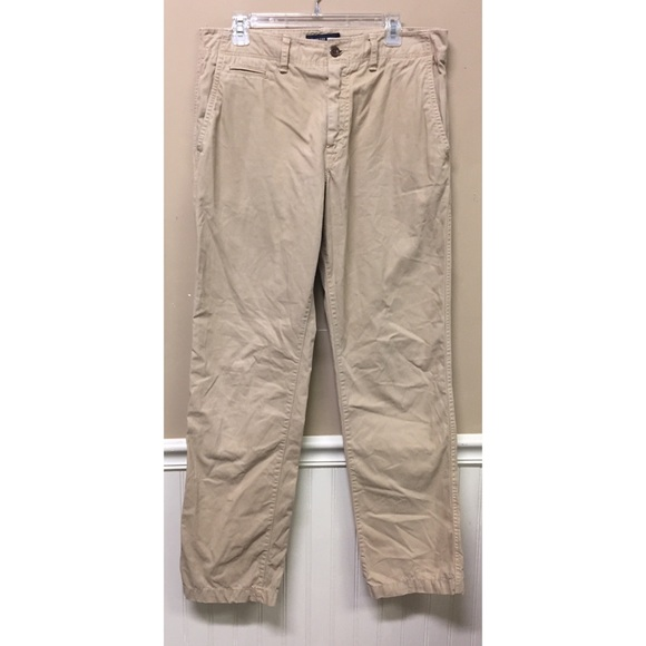 American Eagle Outfitters Other - American Eagle 34 x 33 Khaki Straight Chino Pants
